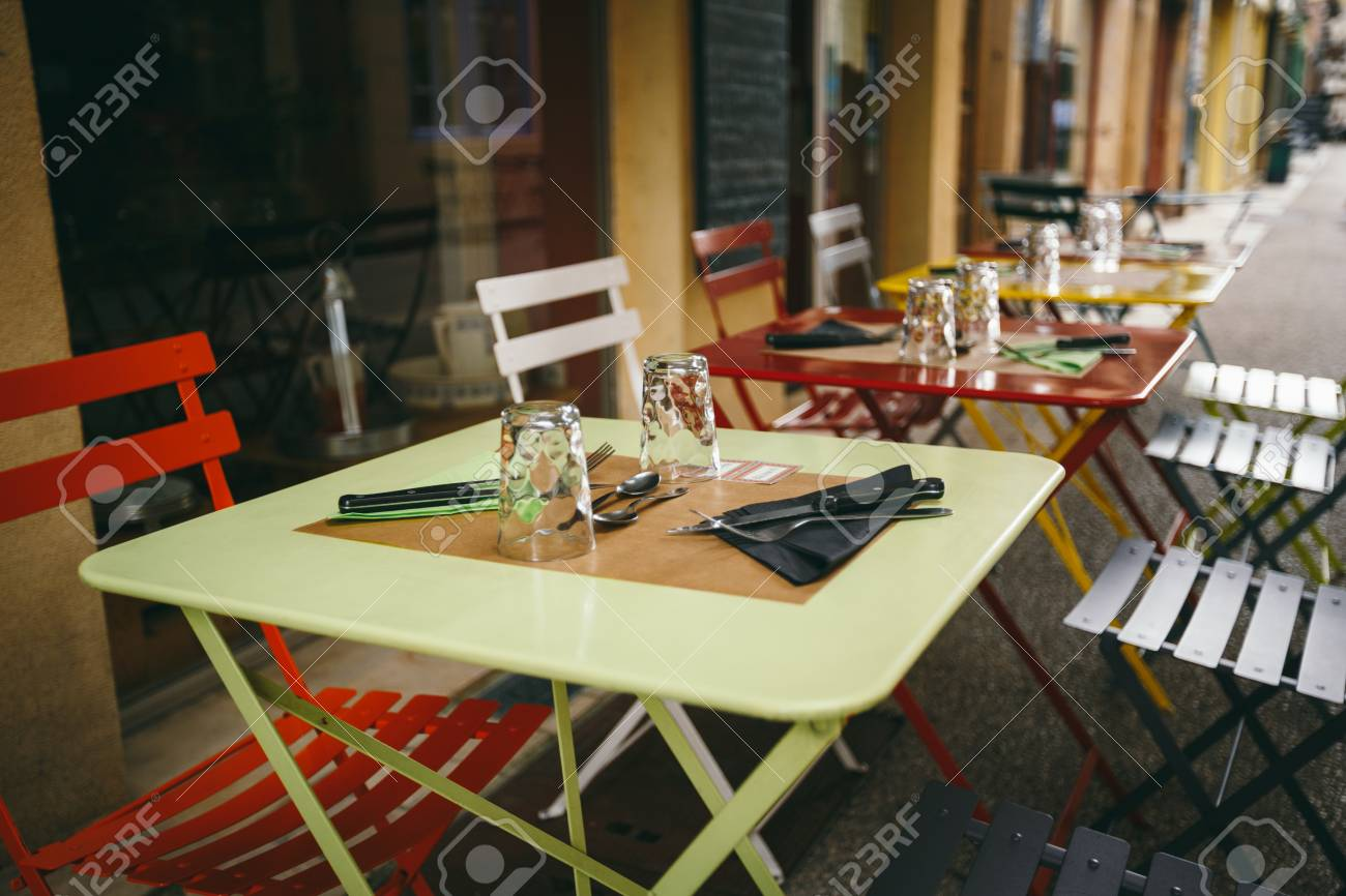 Theme Cafes And Restaurants Exterior Summer Terrace Of Bright Stock Photo Picture And Royalty Free Image Image 102149071