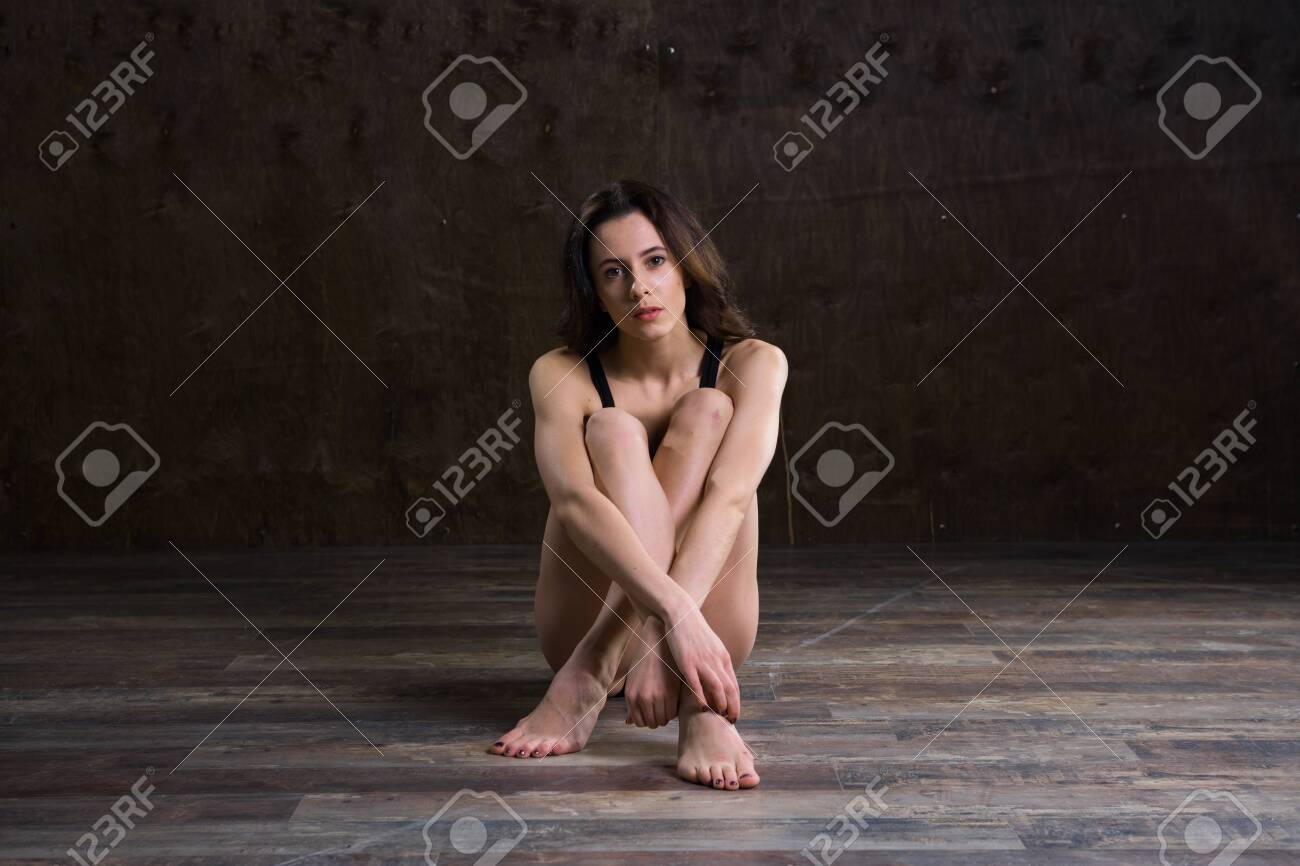 Abstract And Stress Emotional Concept Depressed Girl In Lonely Stock Photo Picture And Royalty Free Image Image 138531551