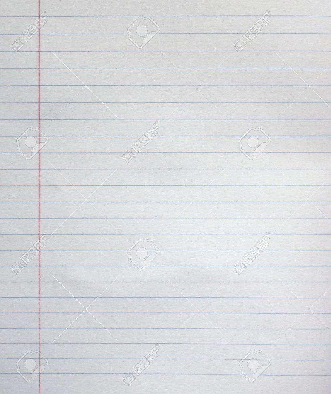 Weiße Linie Blatt Papier Hintergrund Vom Merkzettel. Lizenzfreie ...