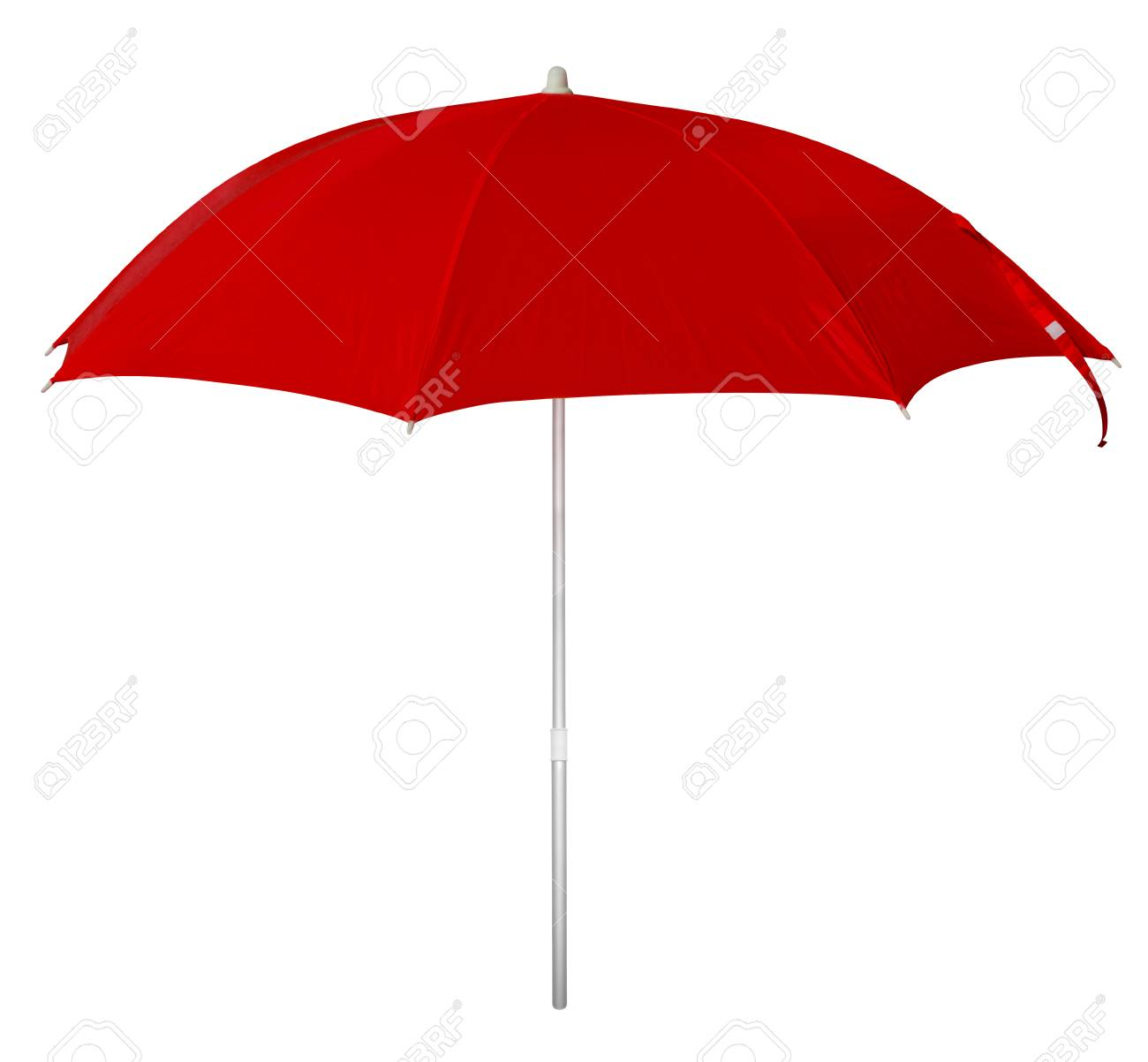 red beach umbrella isolated on white clipping path included stock rh 123rf com large clip on beach umbrella large clip on beach umbrella