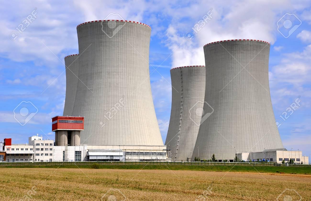 Nuclear power plant Temelin in Czech Republic Europe  Stock Photo - 15647479