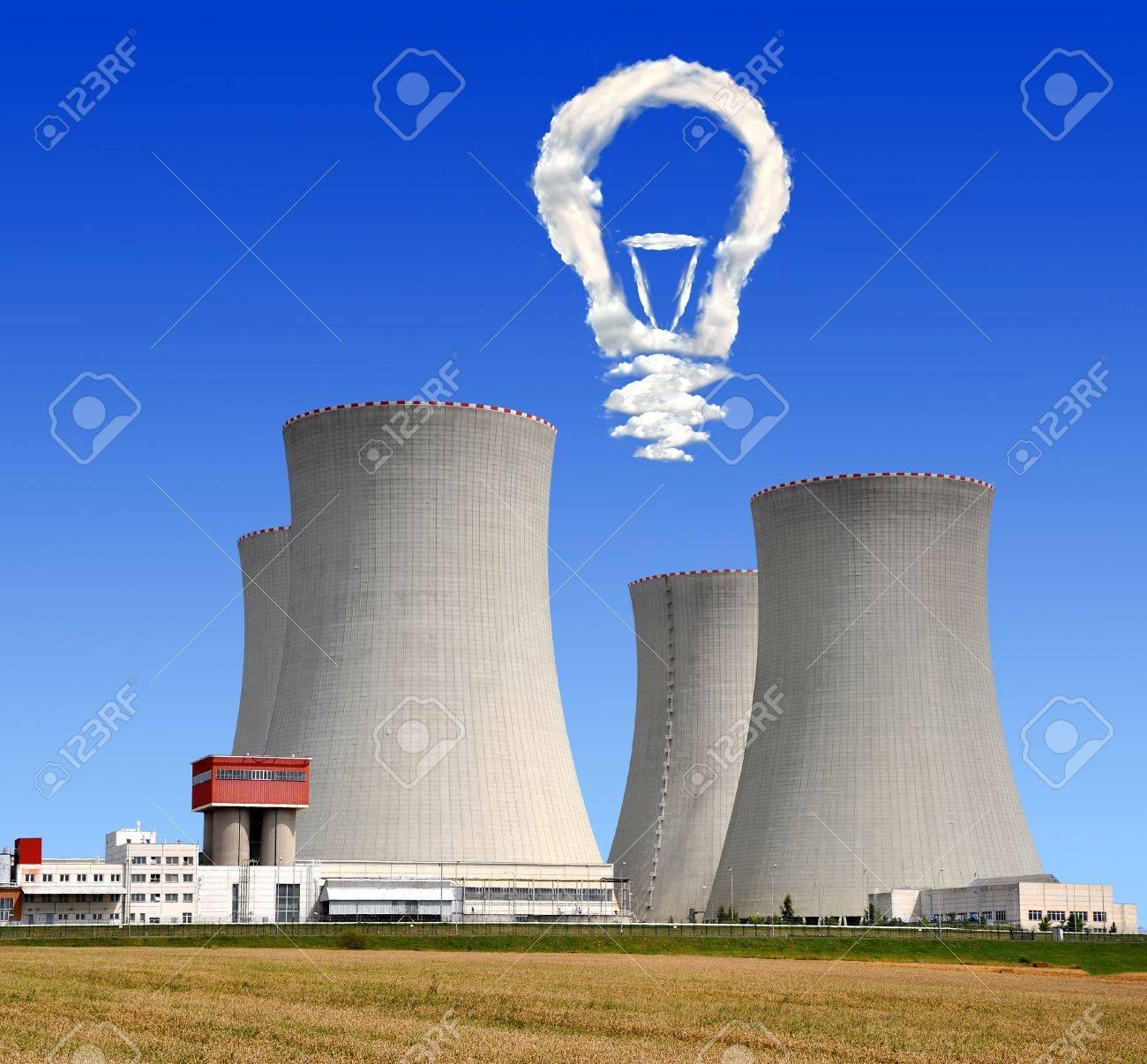 Nuclear power plant Temelin in Czech Republic Europe Stock Photo - 15735610
