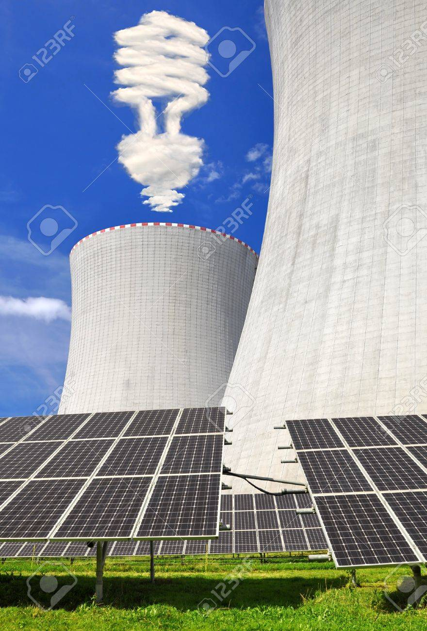 Nuclear power plant Temelin in Czech Republic Europe Stock Photo - 15694101