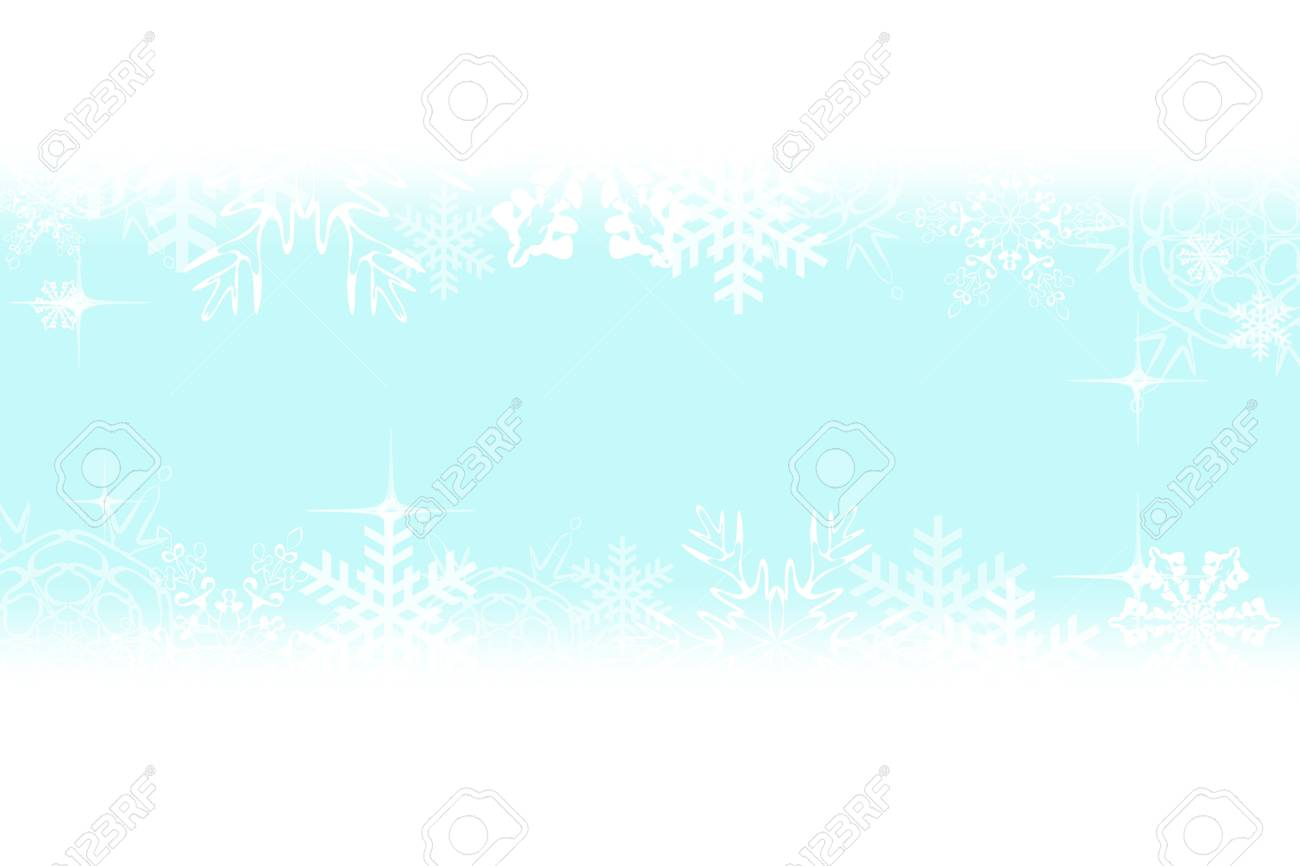 Digitally created illustration of Christmas background with simulated snowflakes and other Xmas images Stock Photo - 8551861