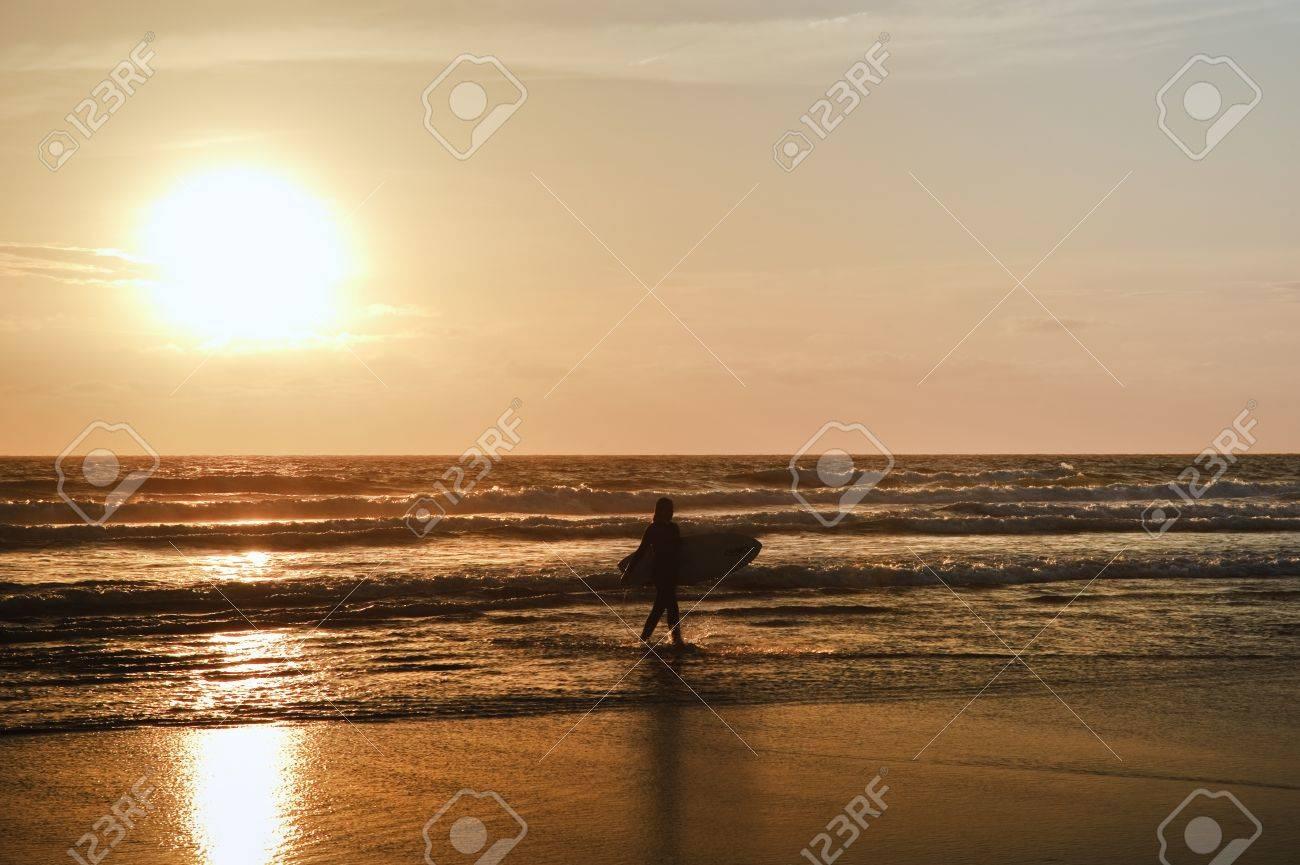 Beautiful Sea Beautiful Sunset on Calm Sea