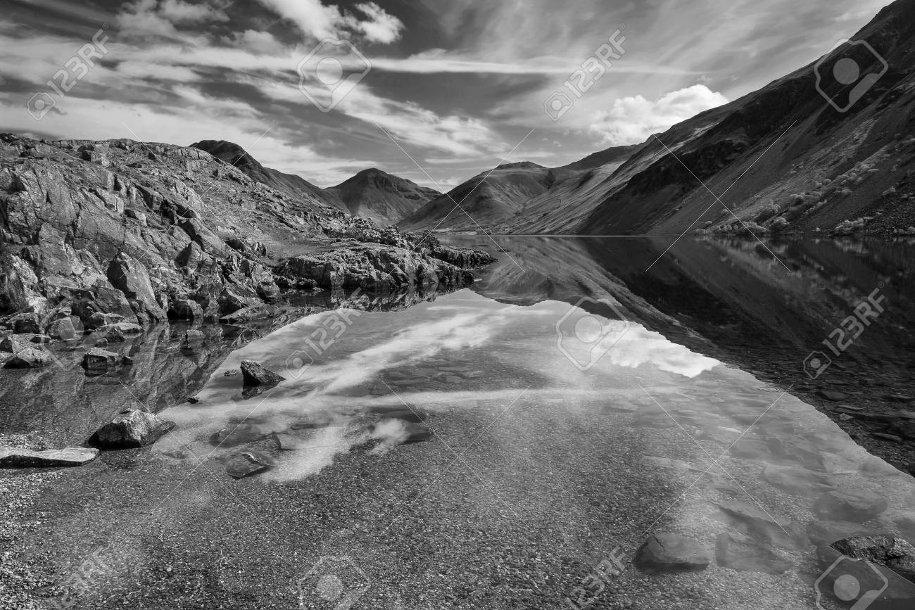 Black And White Photography Lake District