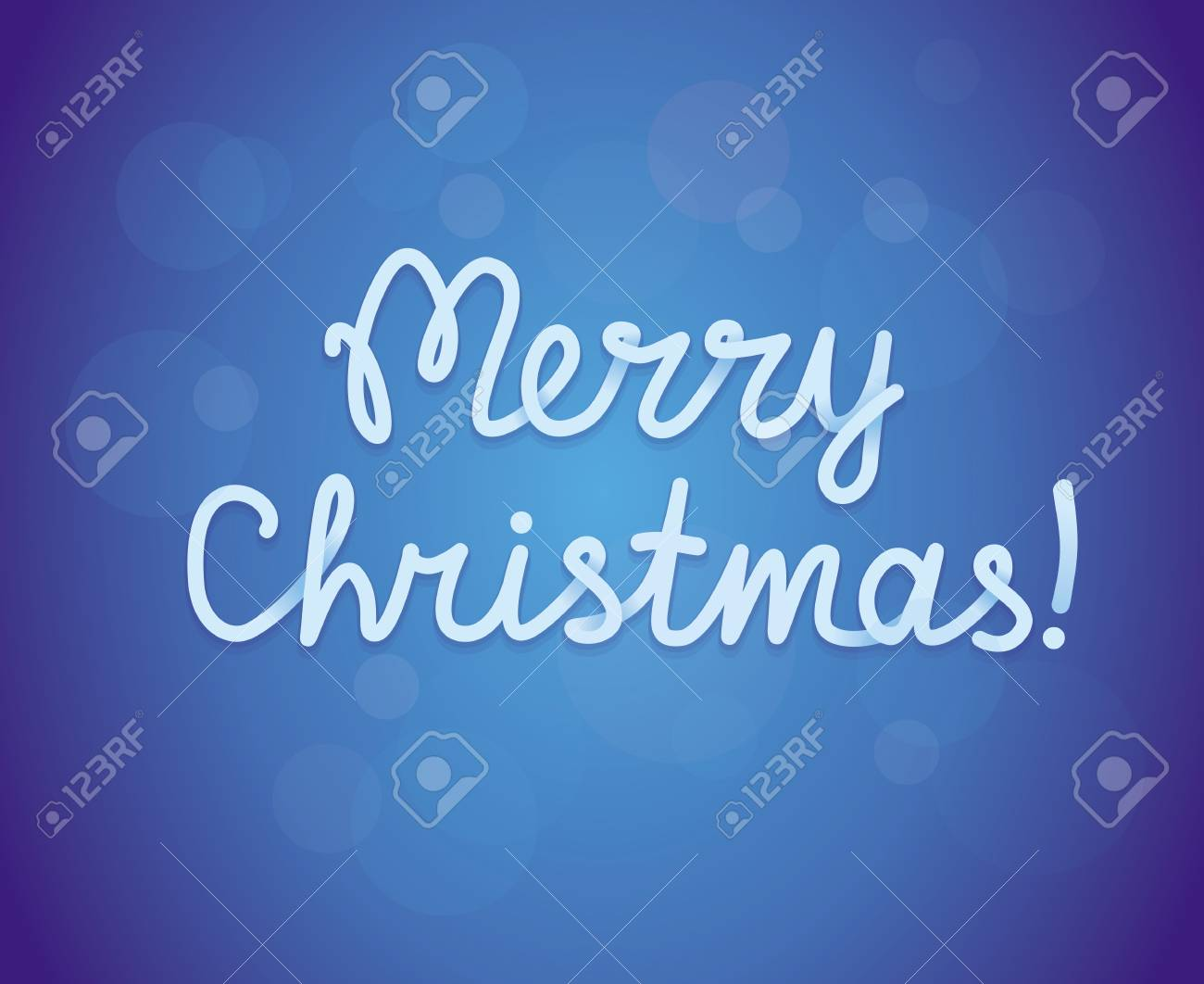 Merry christmas greeting card Stock Vector - 15755071