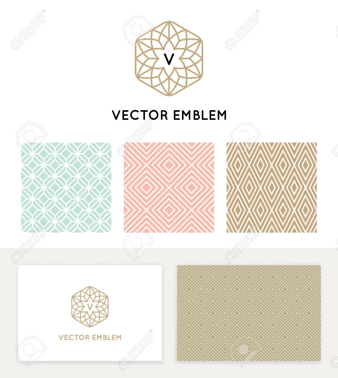 Vector Conjunto De Elementos De Diseño Gráfico, Plantillas De Diseño ...