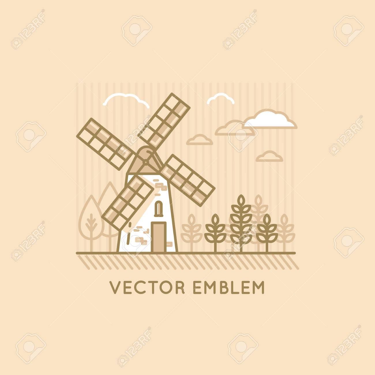 Ilustración De Vector Y Plantilla De Diseño En Moderno Estilo Plano ...