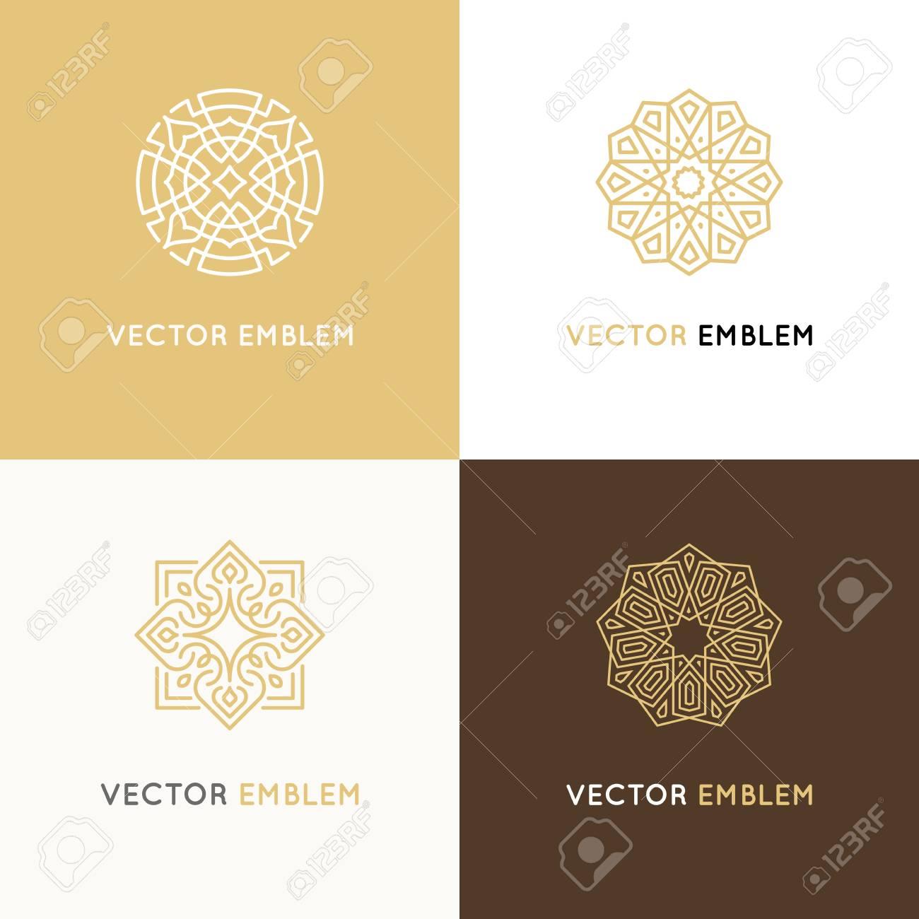 Vector set of logo design templates - 96155101