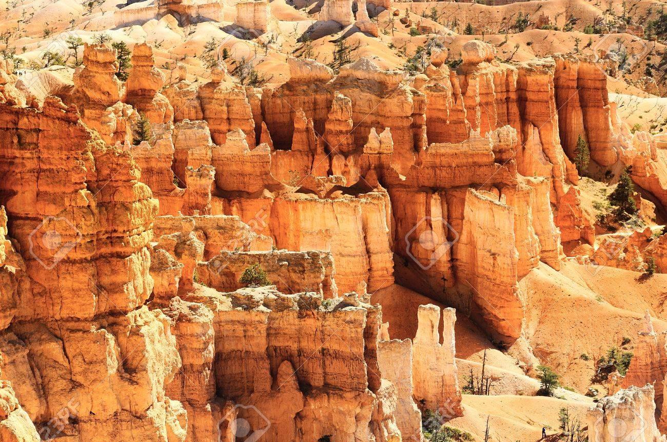 spectacular Hoodoo rock spires of Bryce Canyon, Utah, USA Stock Photo - 16113792