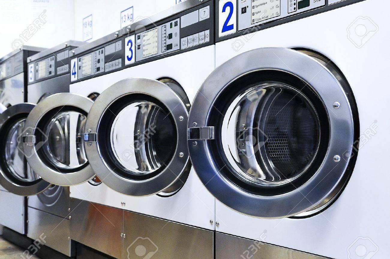 Row Of Washing Machines