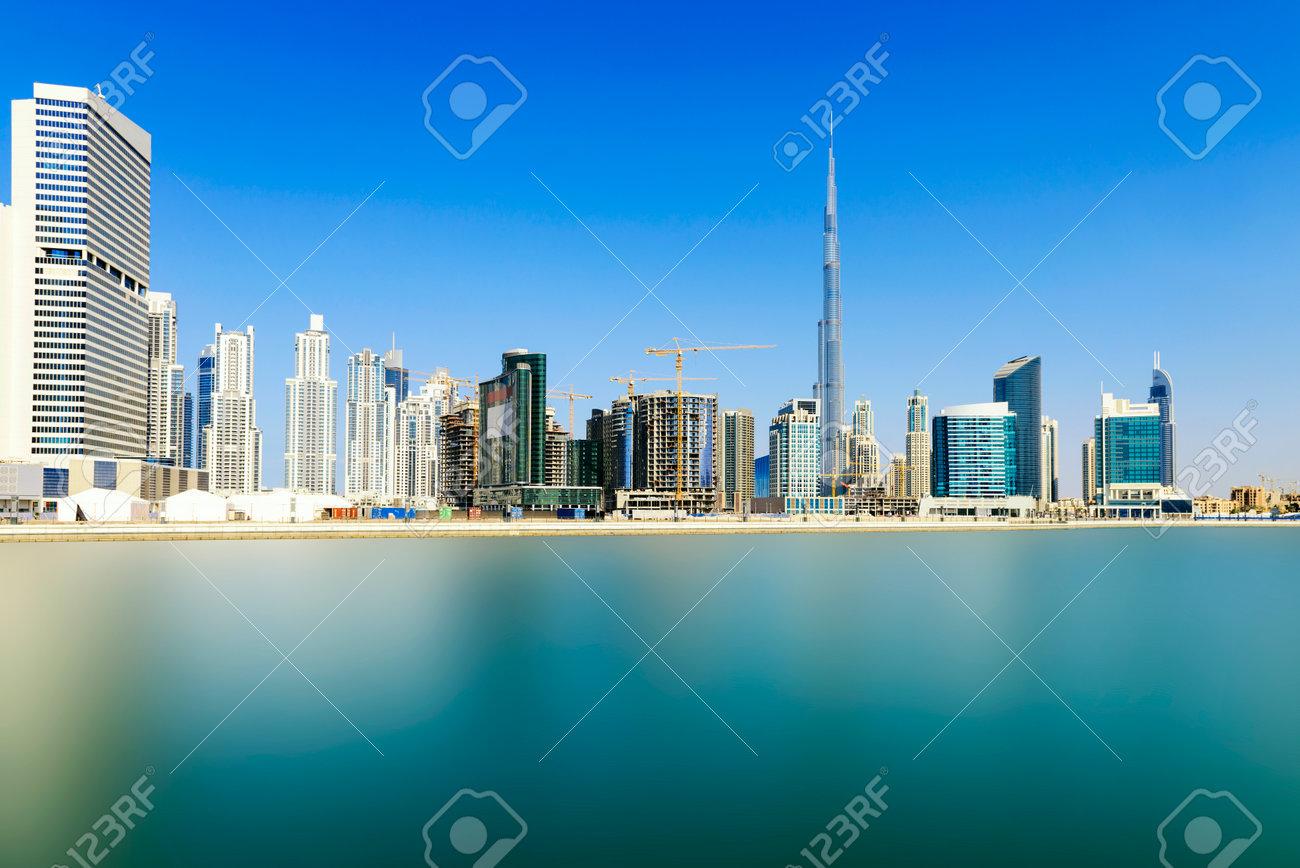 Dubai skyline, United Arab Emirates - 34636520