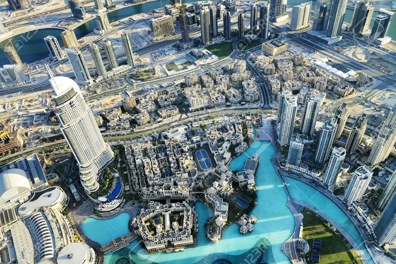 Dubai City ViewDowntown district, UAE - 34942572