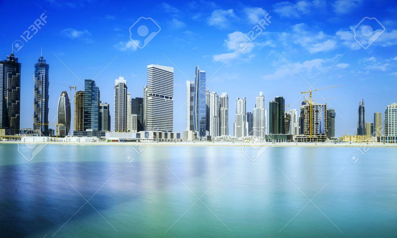 Dubai skyline, United Arab Emirates - 36250342