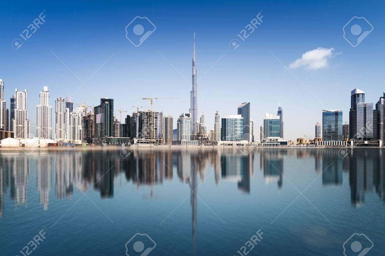 Dubai skyline, United Arab Emirates - 55911232