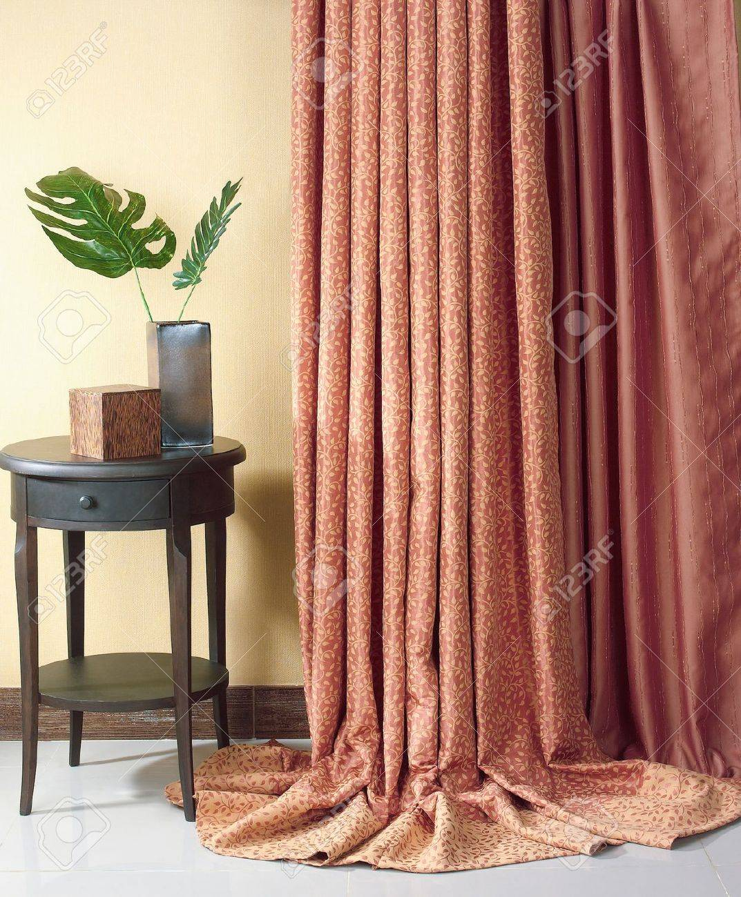 Beautiful curtain for decorate your home Stock Photo - 16658503