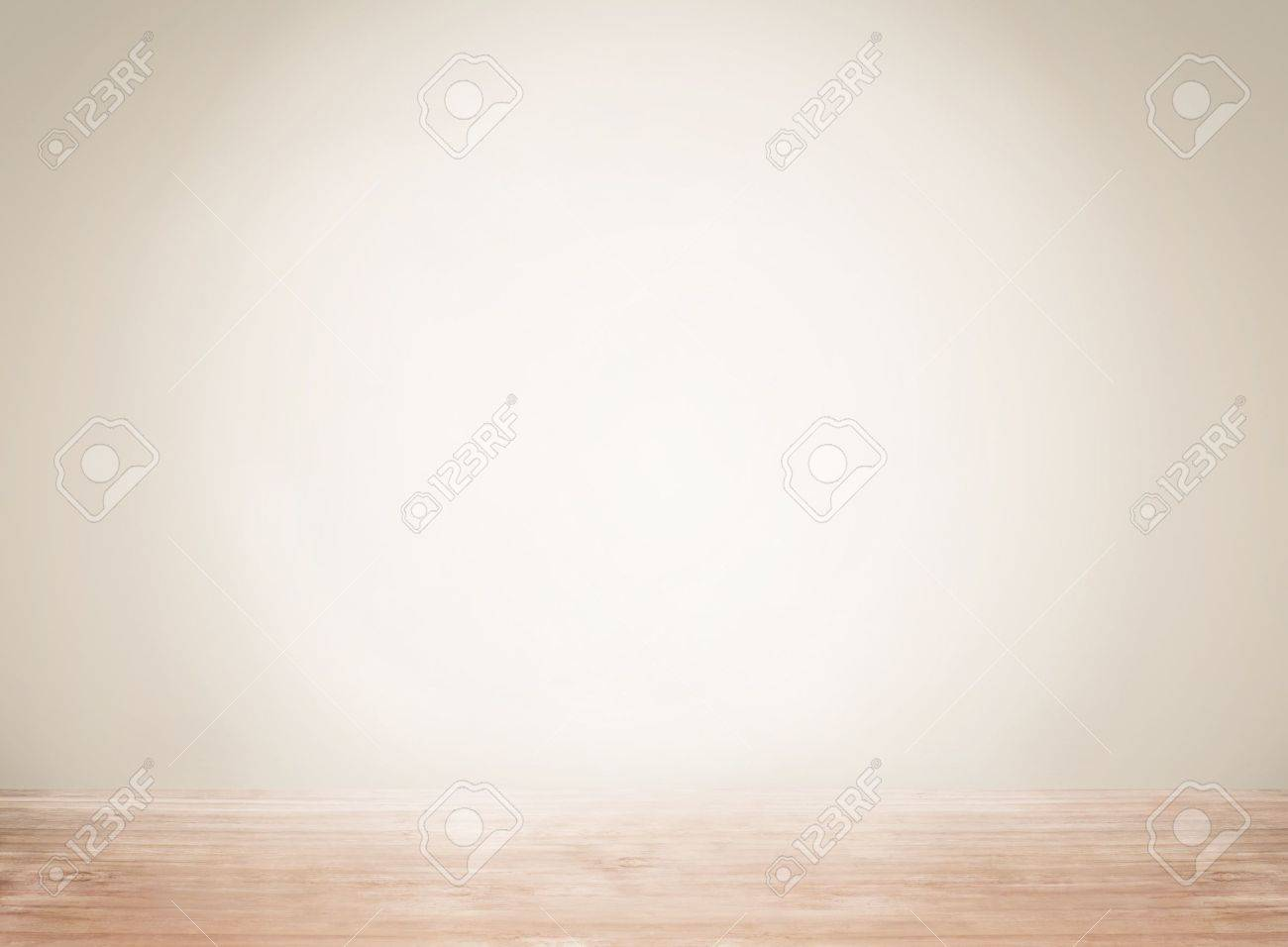 Empty space with wall and wooden floor Stock Photo - 16742077