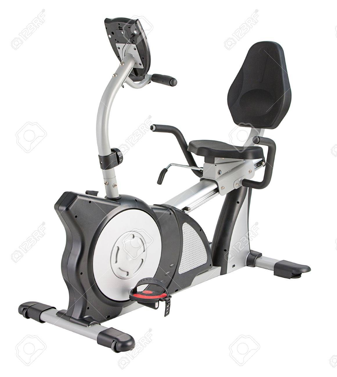 Many functions of bicycle machine for fitness or home Stock Photo - 16806525