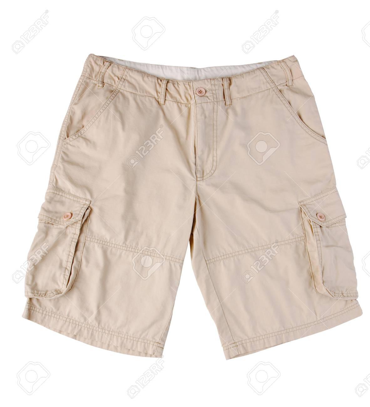 98a3ab5aa5 Cómodo pantalón corto para su día de aventura Foto de archivo - 16806732