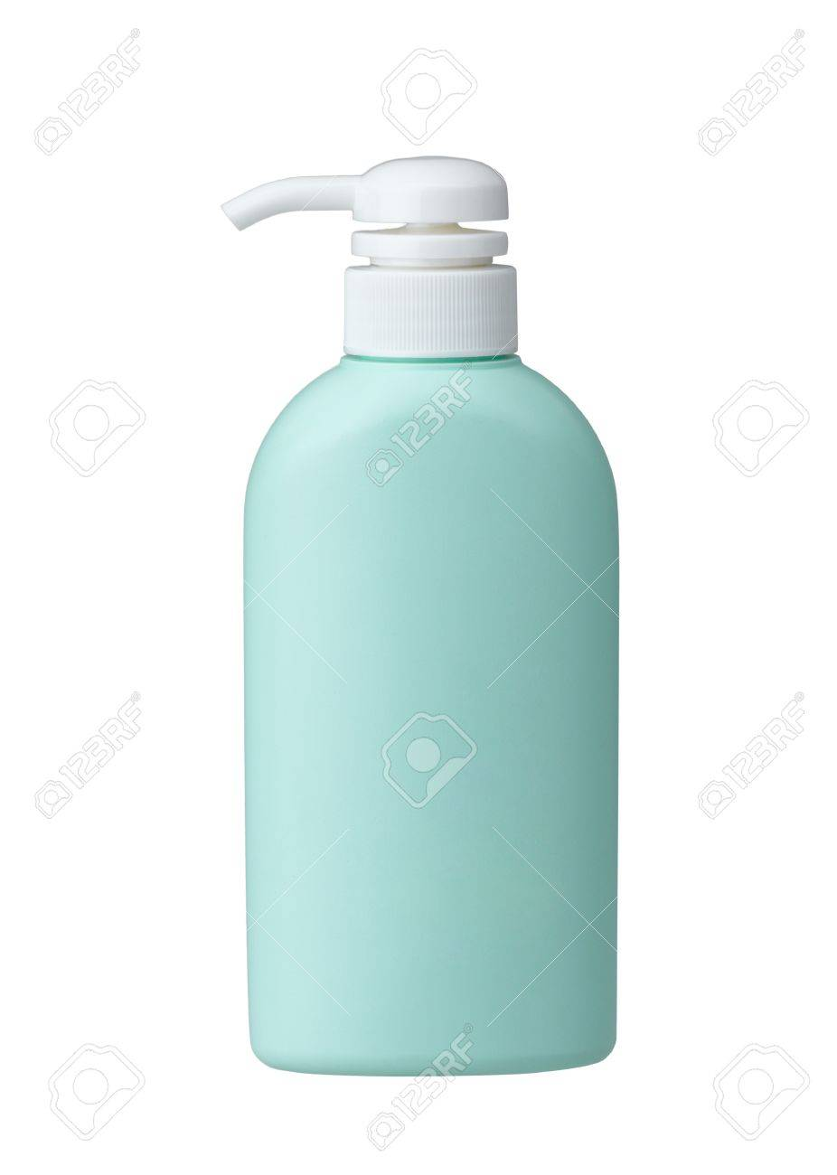 Cosmetic bottle without label for you put your brand or text on it Stock Photo - 16844729