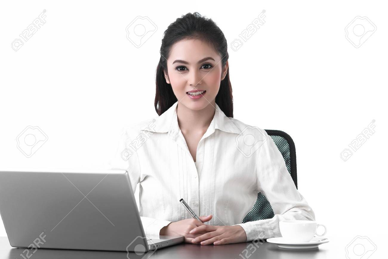 busy office clerk images stock pictures royalty busy busy office clerk a working w working smiling face