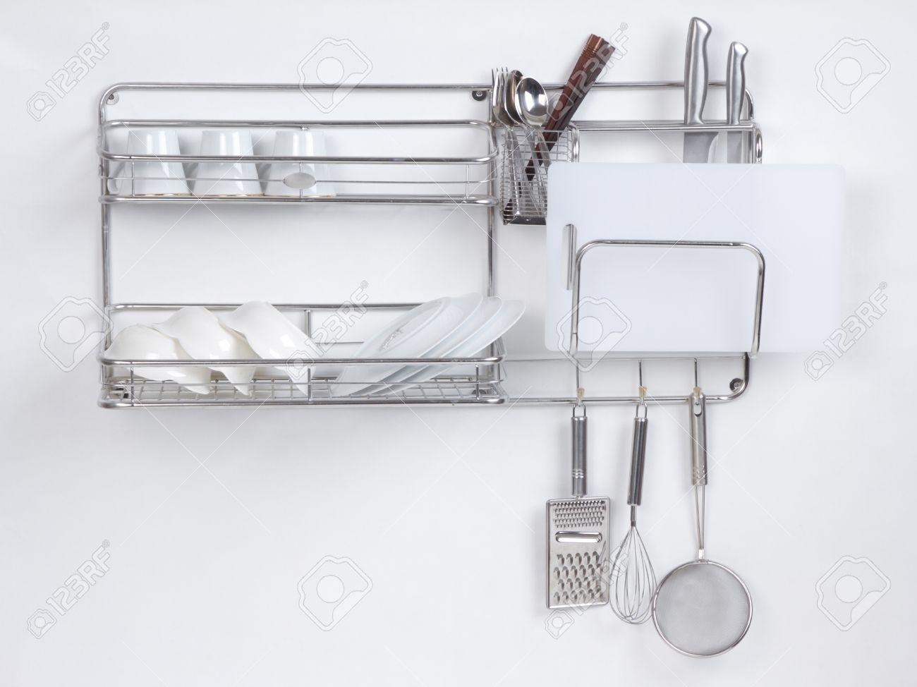 Mensole Acciaio Per Cucina. Best Mensole Per Cucina Teeline Set Di ...