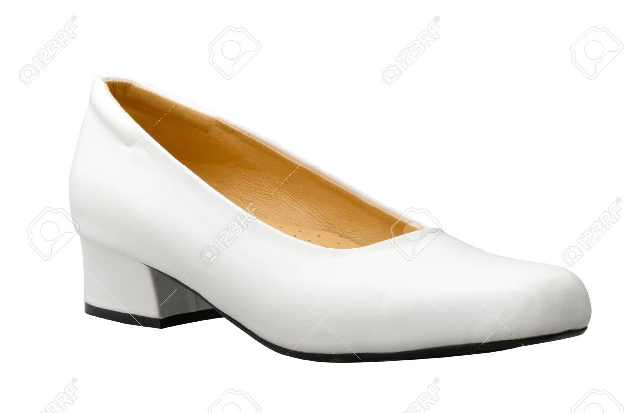 chaussure femme blanche