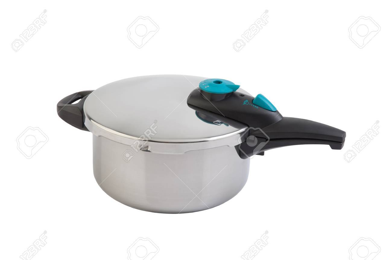 High pressure aluminum cooking pot with safety cover Stock Photo - 18842137
