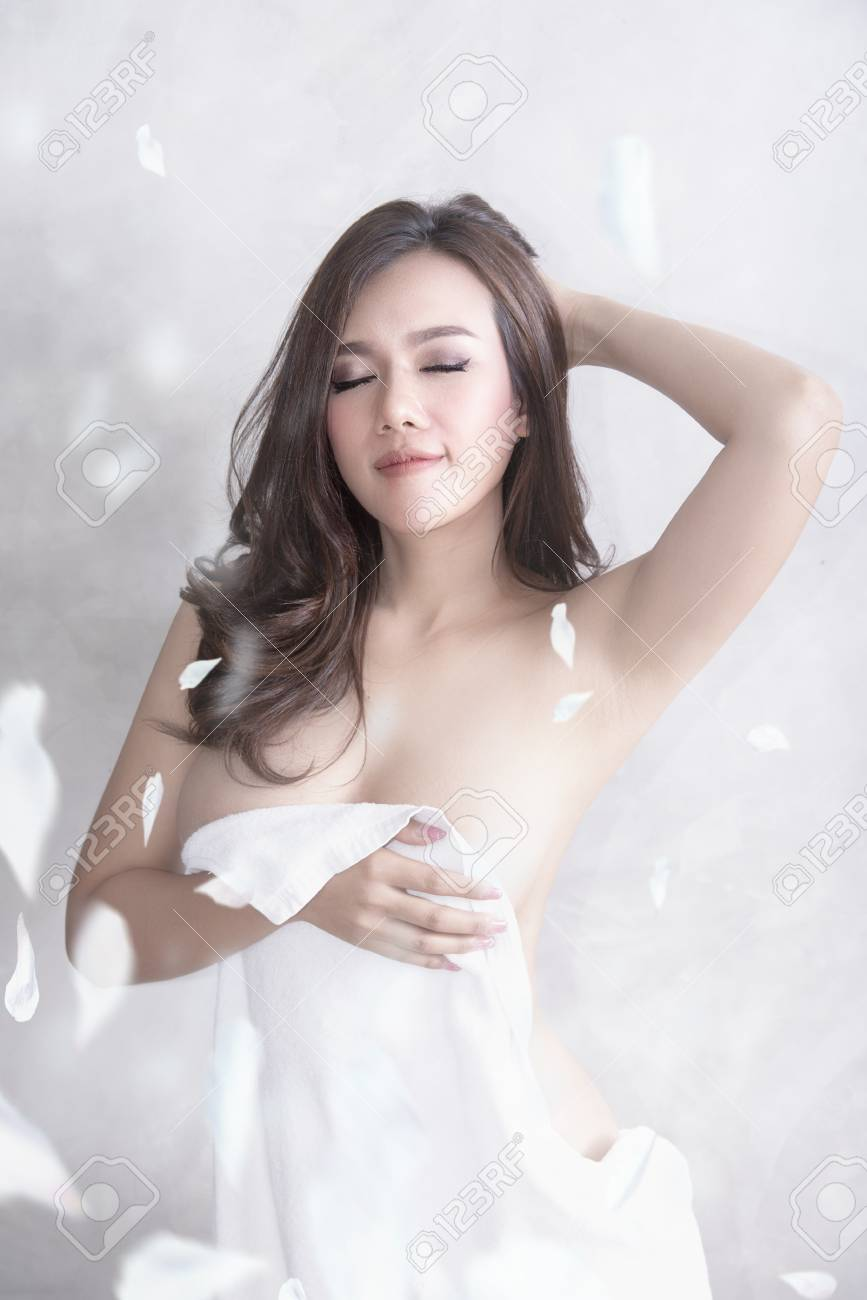 Sexy Girl In Towel