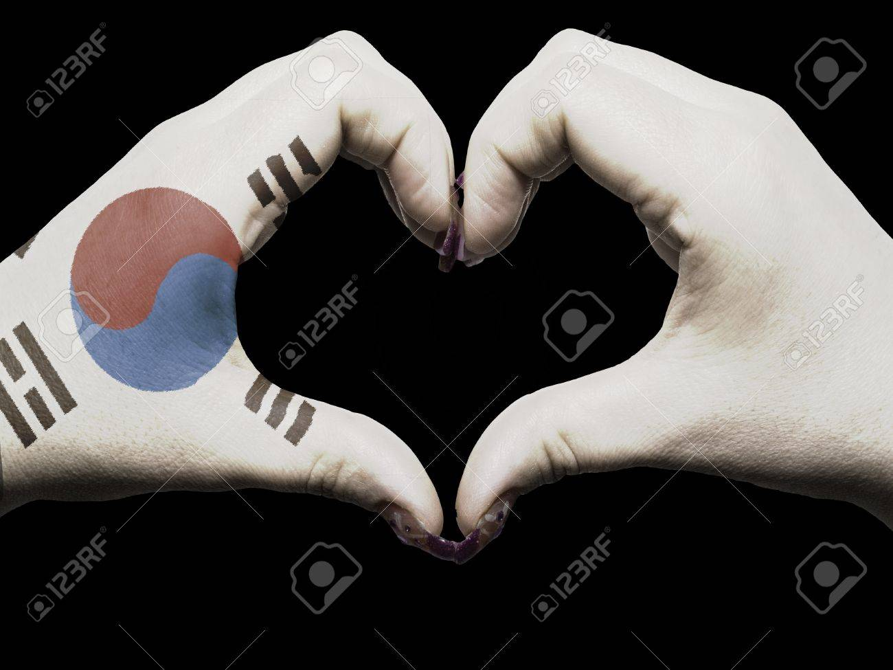 http://previews.123rf.com/images/vepar5/vepar51204/vepar5120400270/12982028-Tourist-made-gesture-by-south-korea-flag-colored-hands-showing-symbol-of-heart-and-love--Stock-Photo.jpg