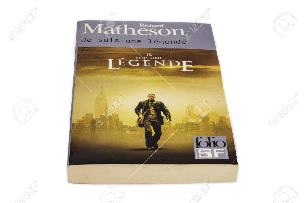 richard matheson i am legend french edition stock photo picture and