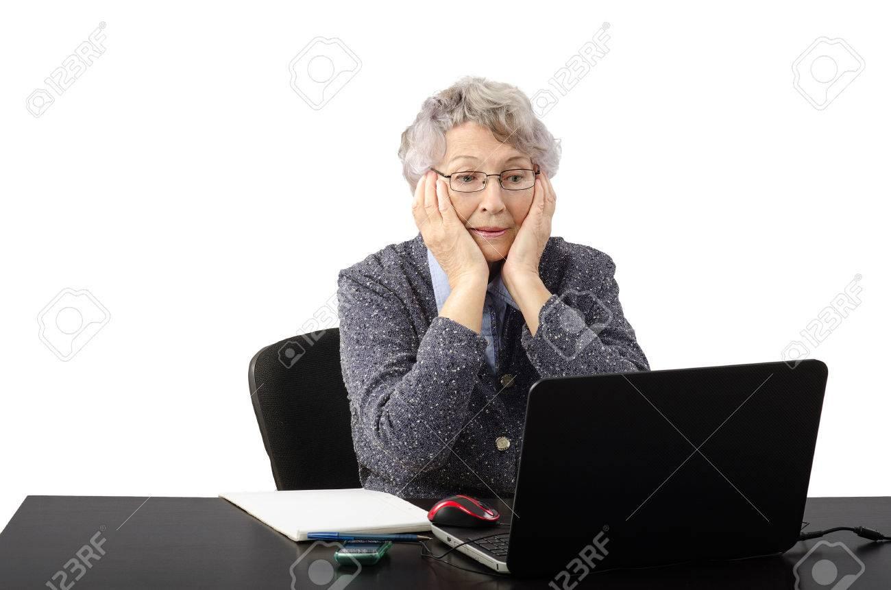 старушка по скайпу