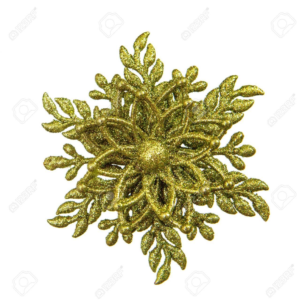 Christmas decoration star isolated on white background Stock Photo - 16262015