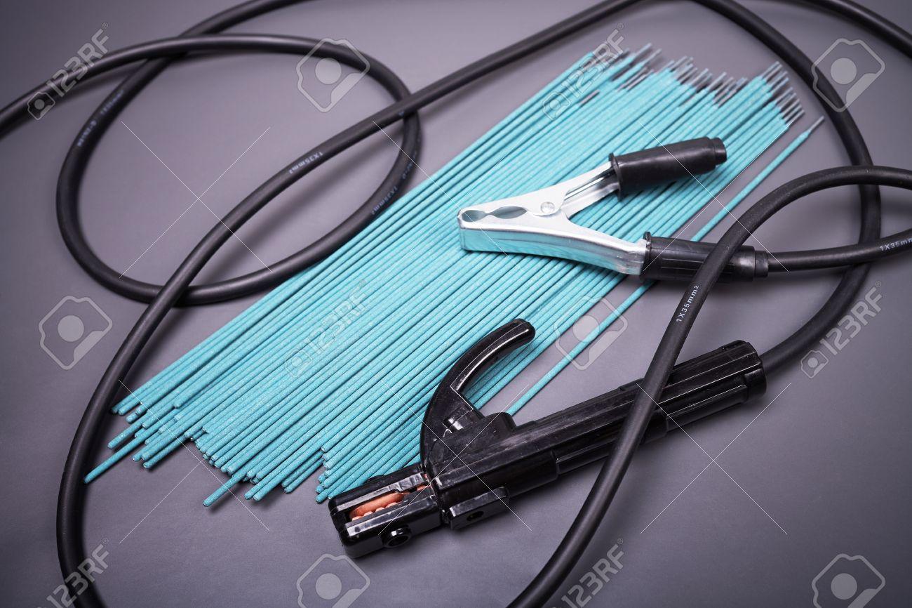 Welding Equipment, Welding Electrodes, High-voltage Wires With ...