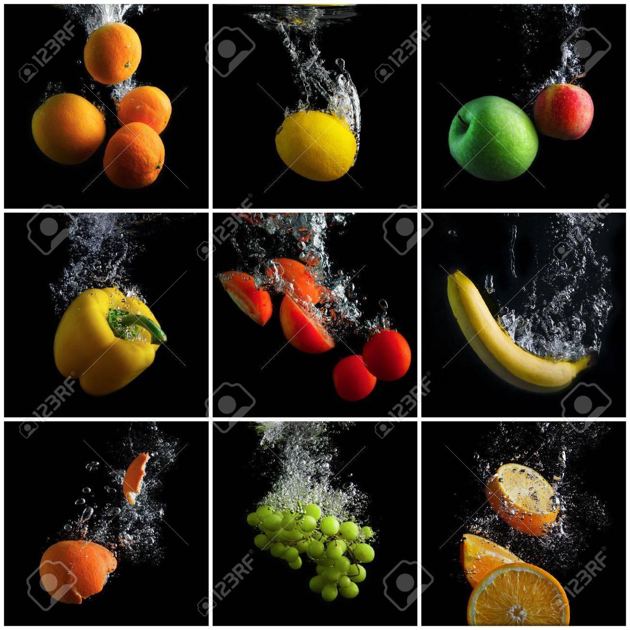 Früchte von Wasser für die Ernährung