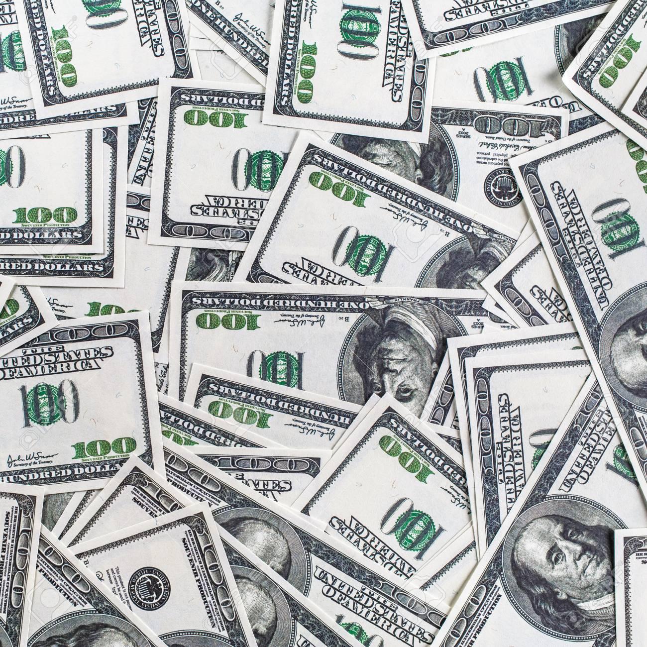 Mucho Dinero Como Fondo Billetes De Cien Dólares Fondo De Dinero