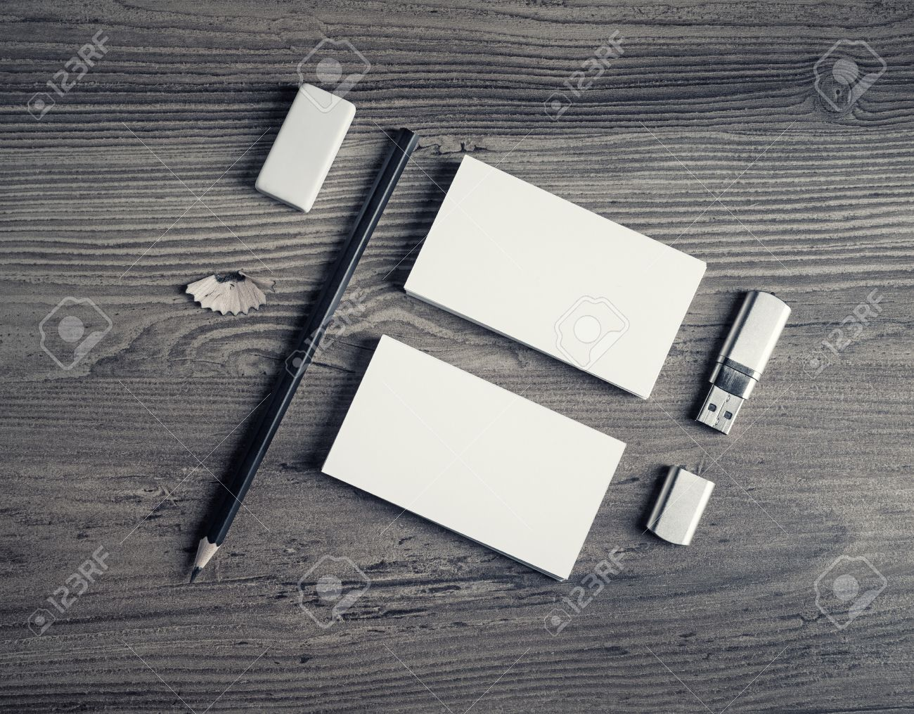 Set Ufficio Legno : Modello di lavoro di ufficio vuoto set di cancelleria mock up