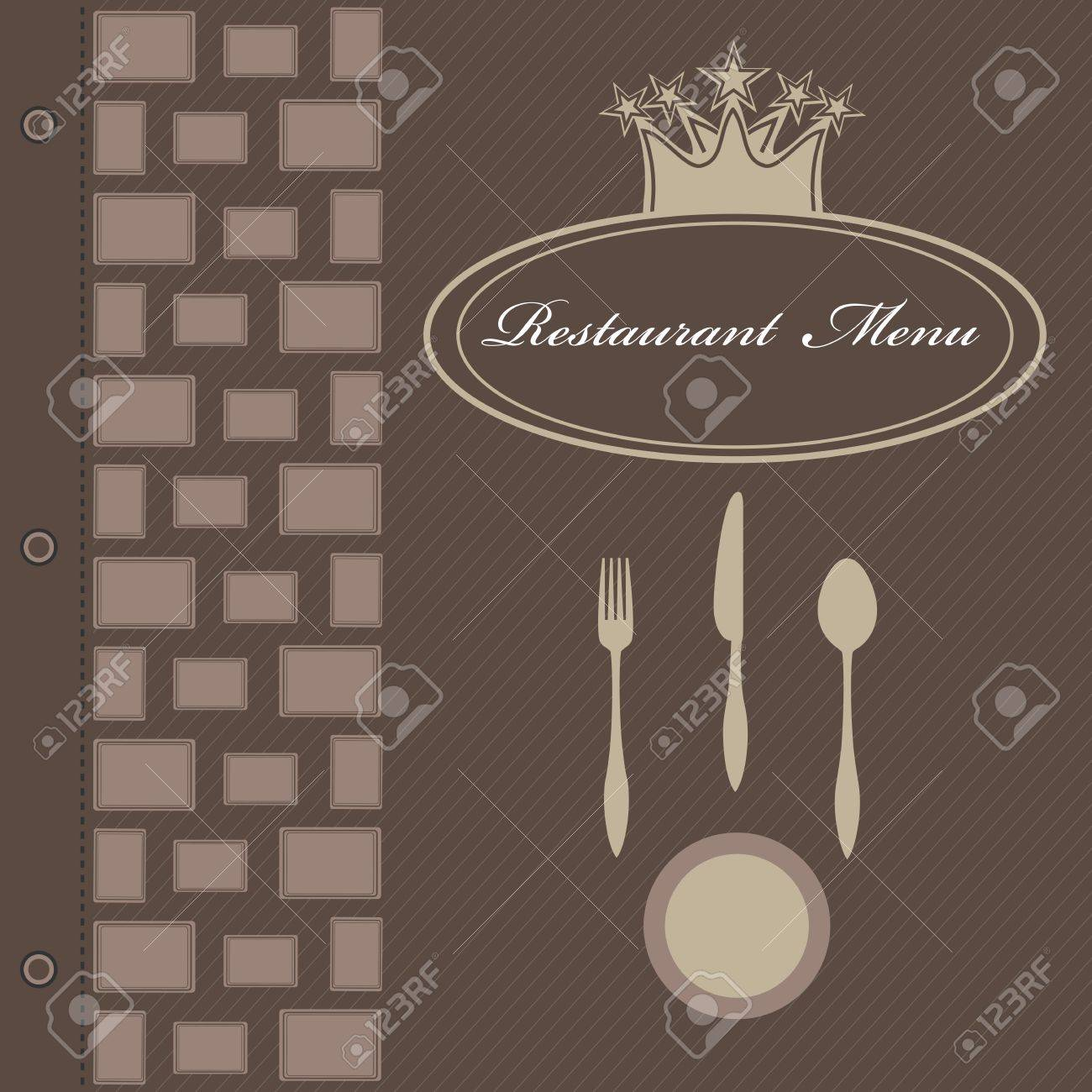 Restaurant menu Stock Vector - 14234794