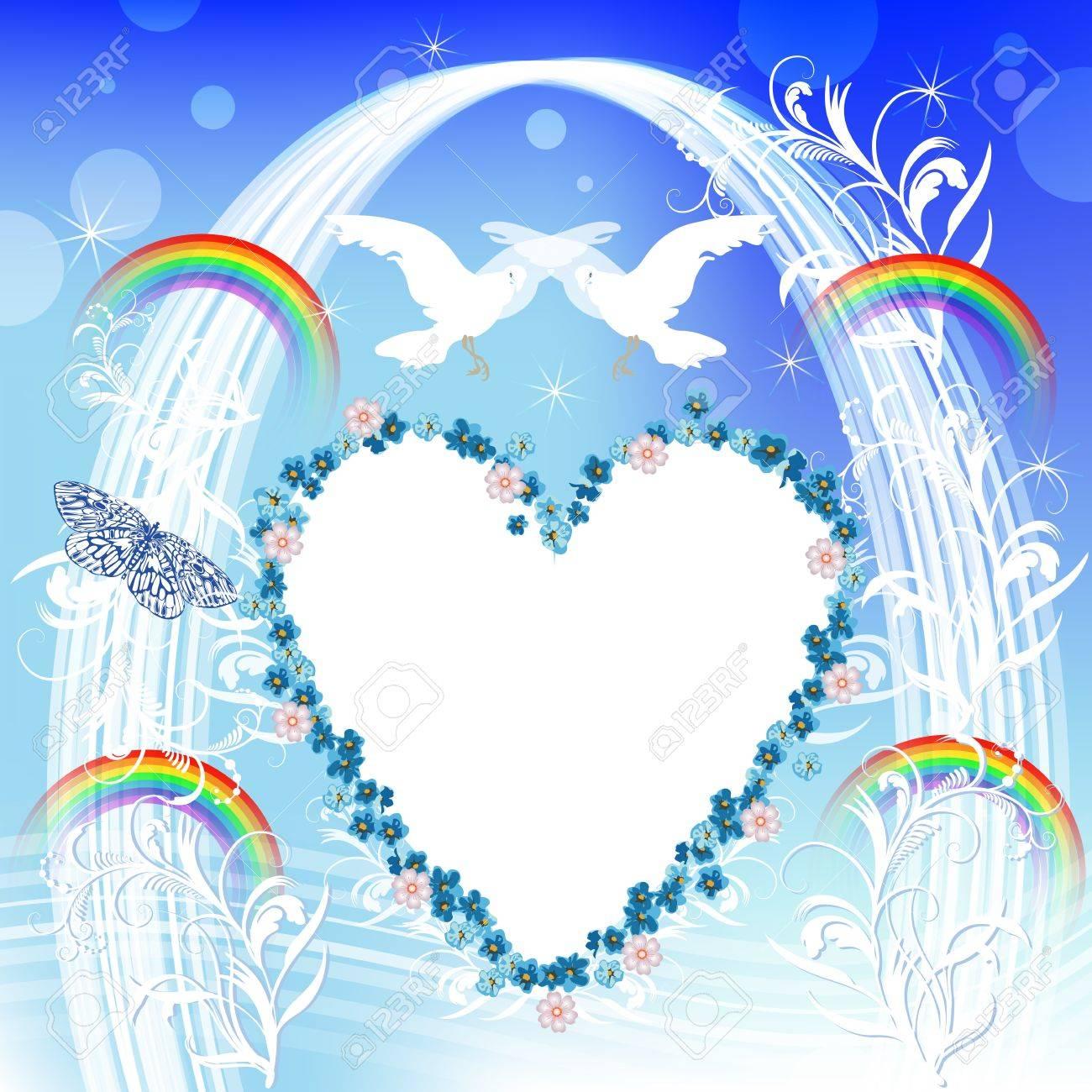 Wedding card Stock Vector - 14234951