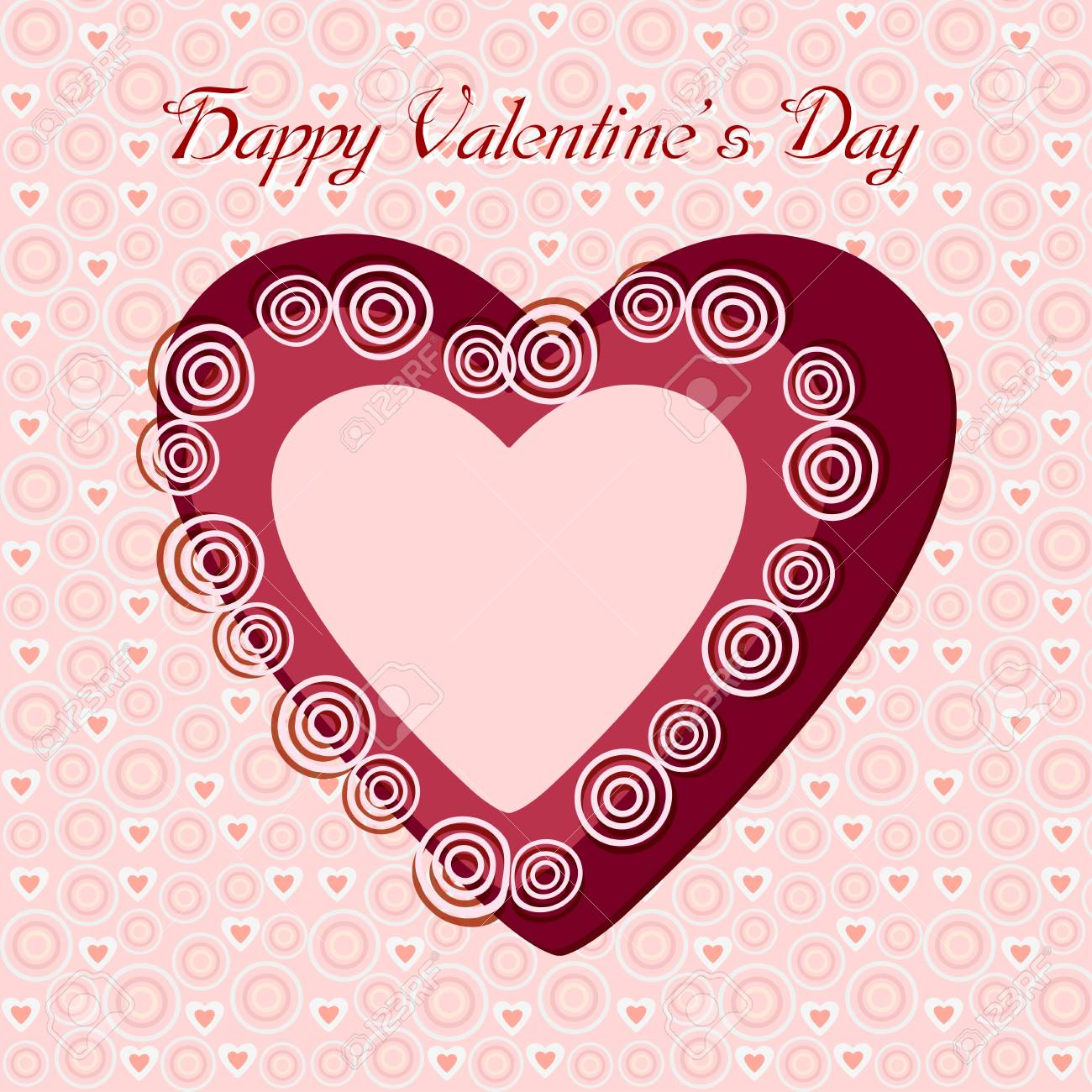 Heart Valentine s day Stock Vector - 17301212