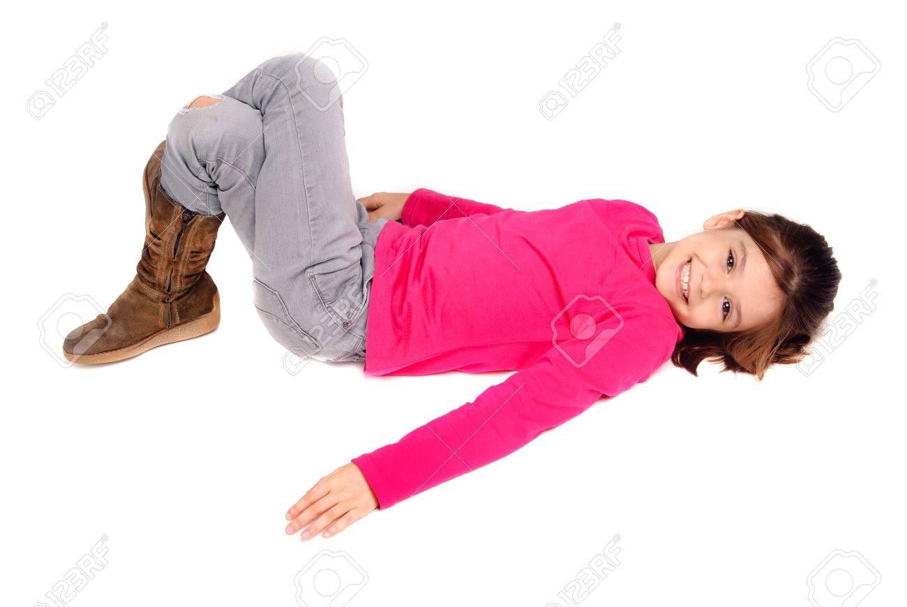 little girl posing Stock Photo - 17830629