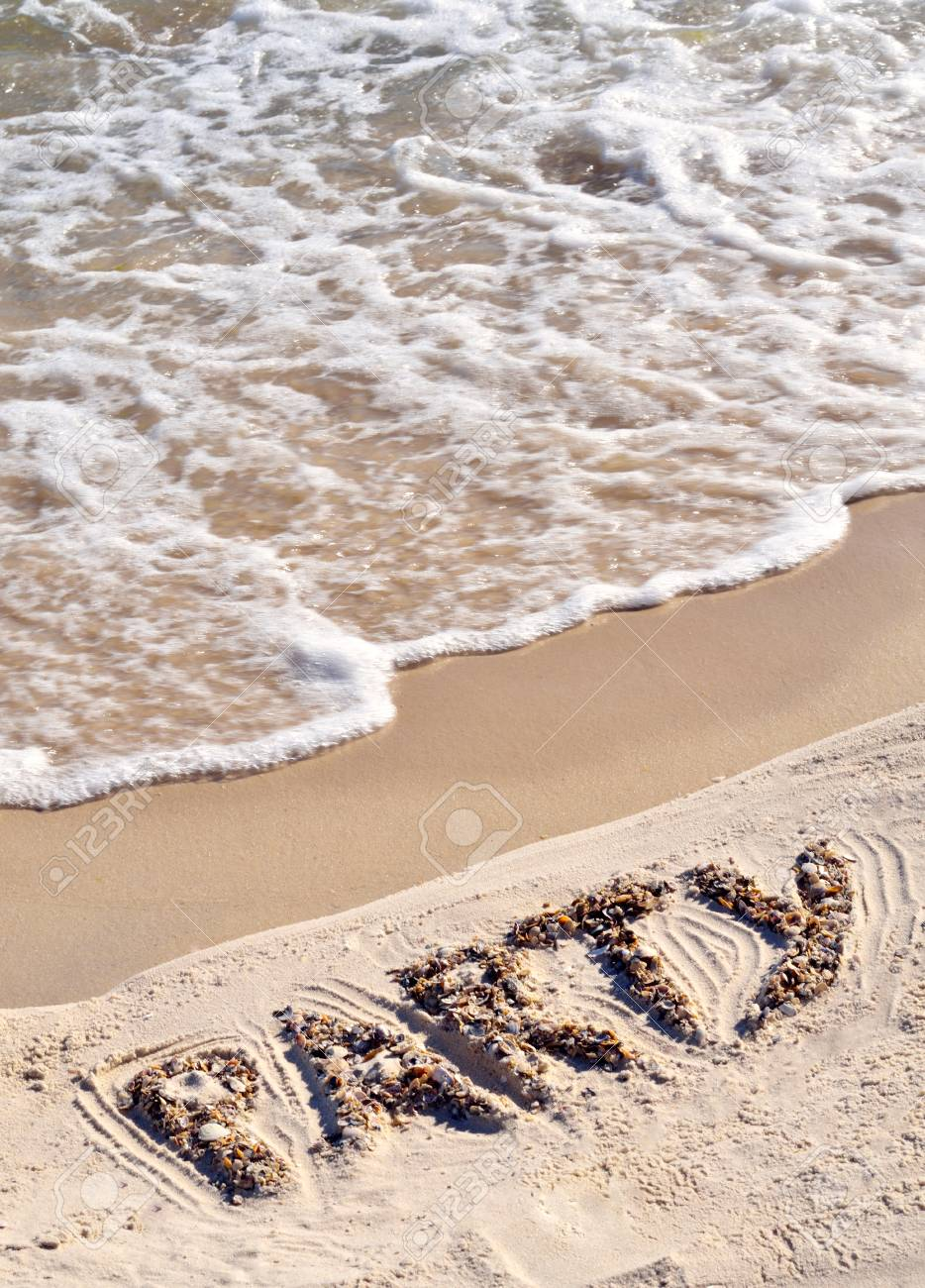 Party on the golden sand on the seashore. - 60807708