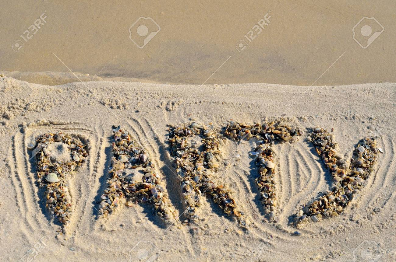 Party on the golden sand on the seashore. - 68693466
