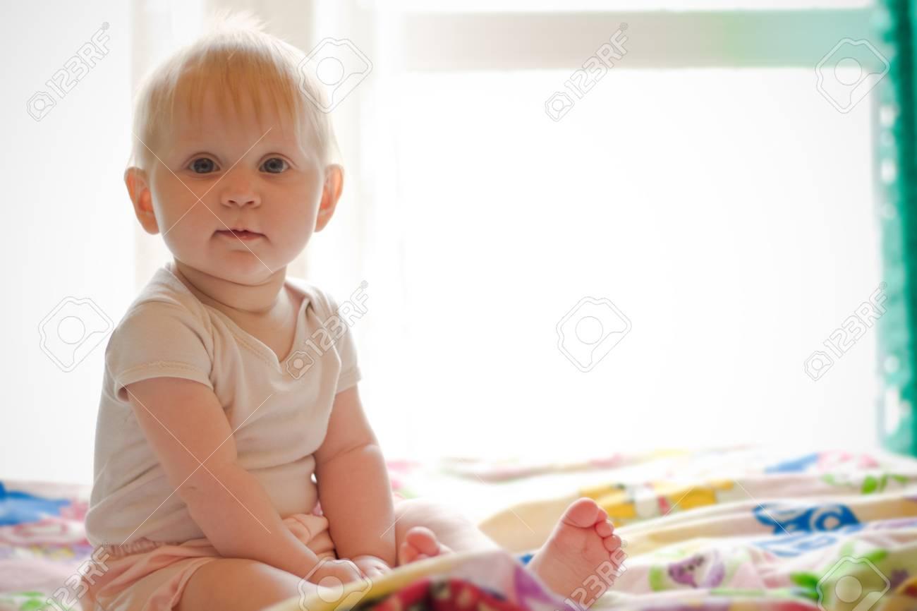 Portret of little  girl Stock Photo - 9362082