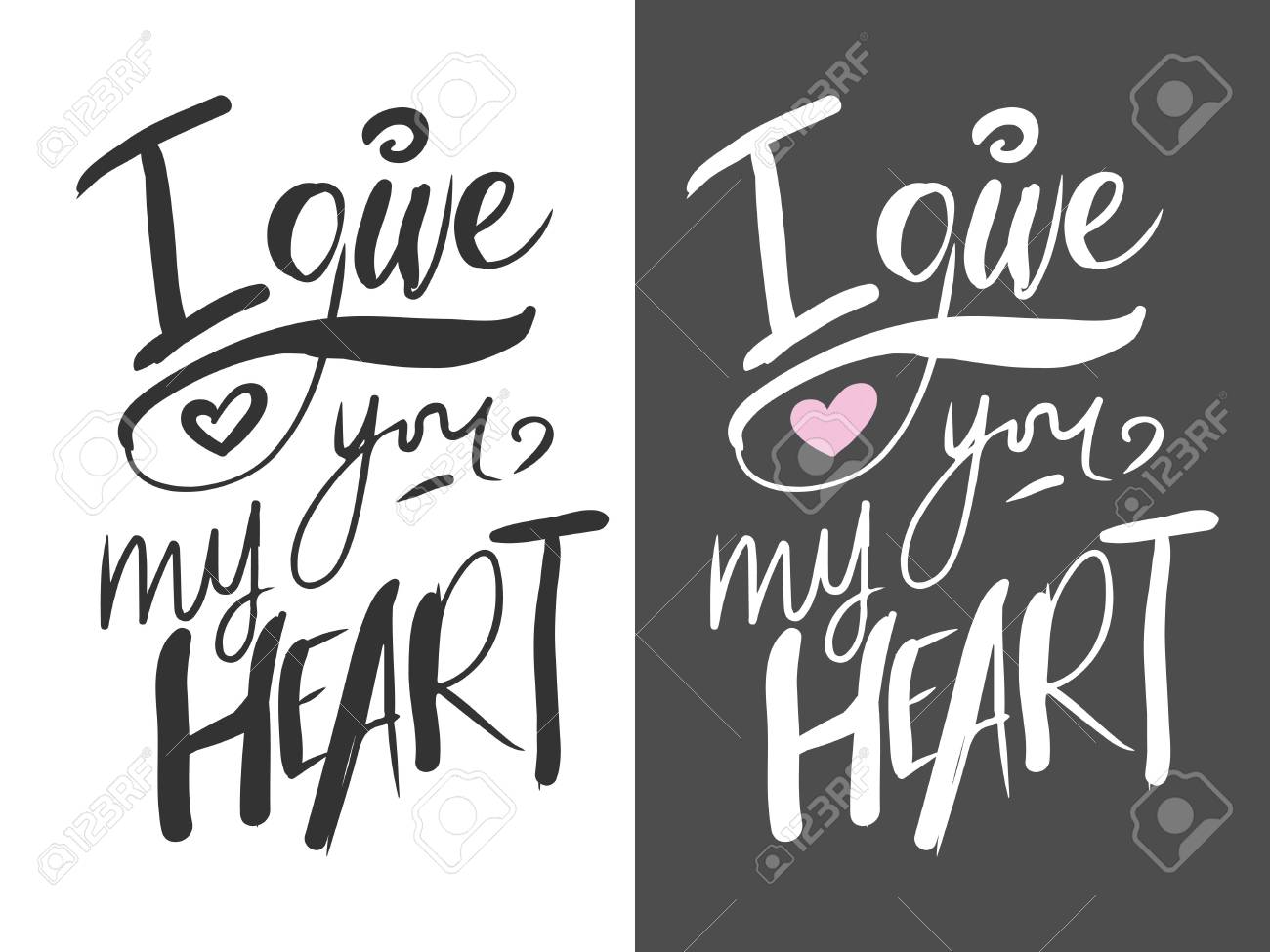 I Give You My Heart Motivational Quotes About Love Hand