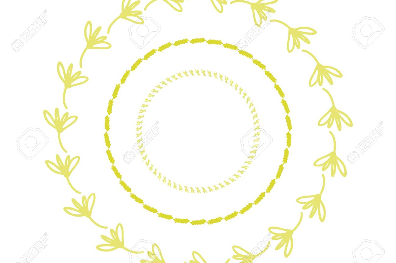 hand drawn ornate frame for your design: cards, posters - 118664475