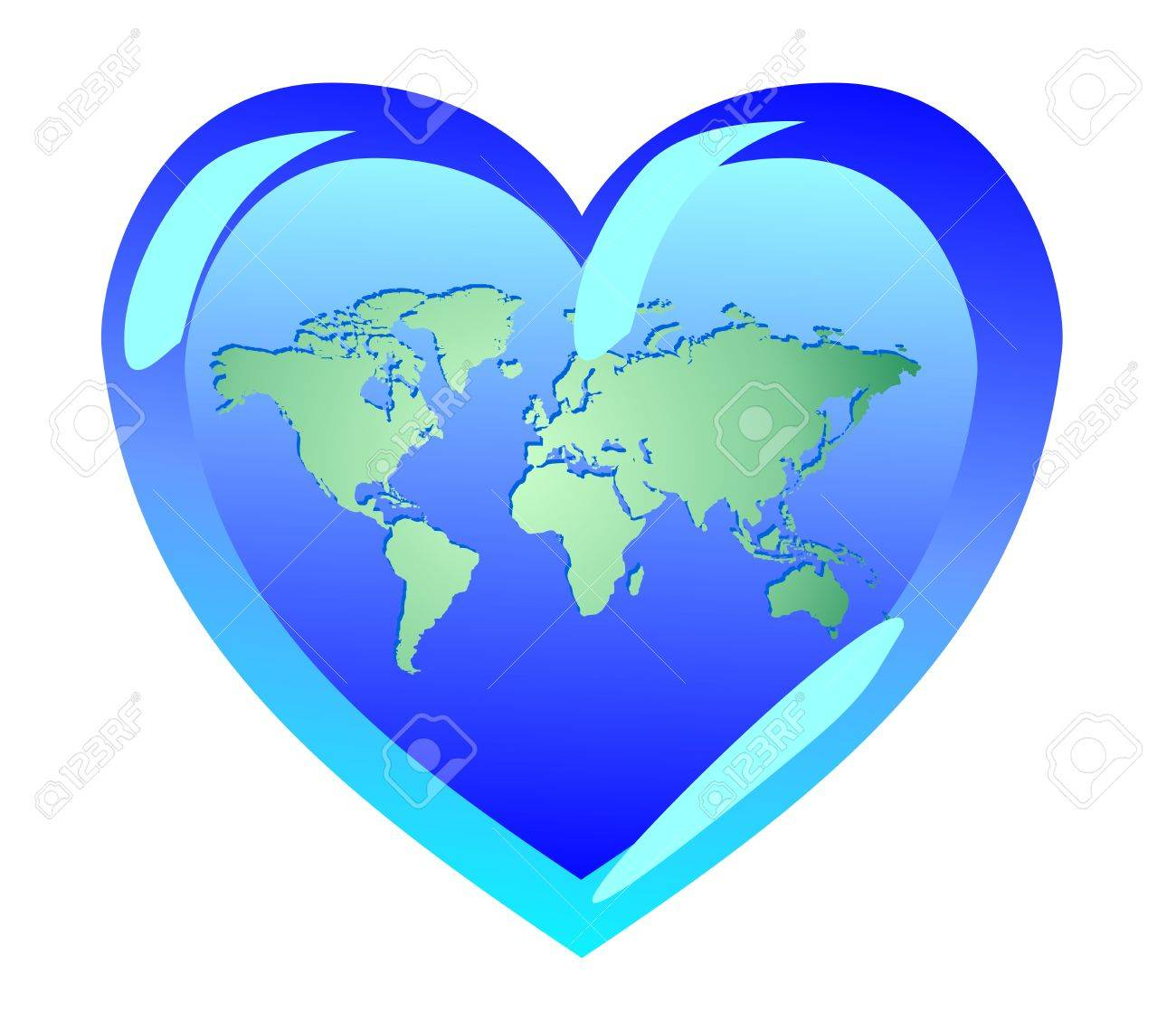 Earth in the form of heart the world is love symbols of pacifism earth in the form of heart the world is love symbols of pacifism buycottarizona Gallery
