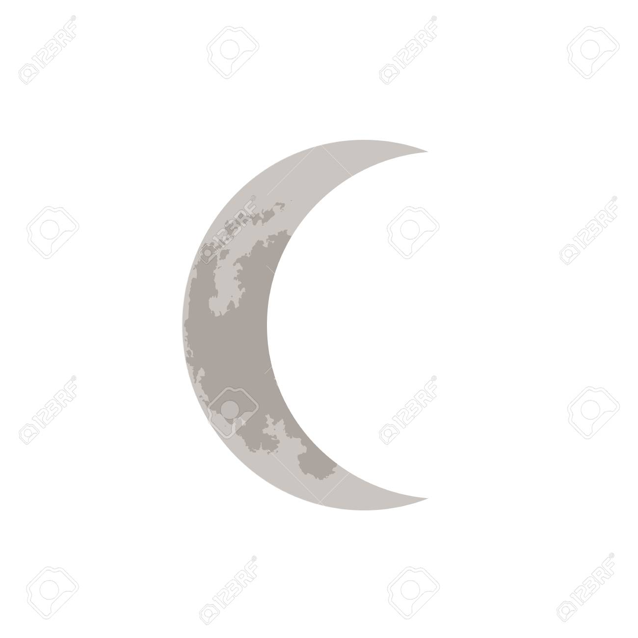 crescent moon vector illustration royalty free cliparts vectors and stock illustration image 92111360 123rf com
