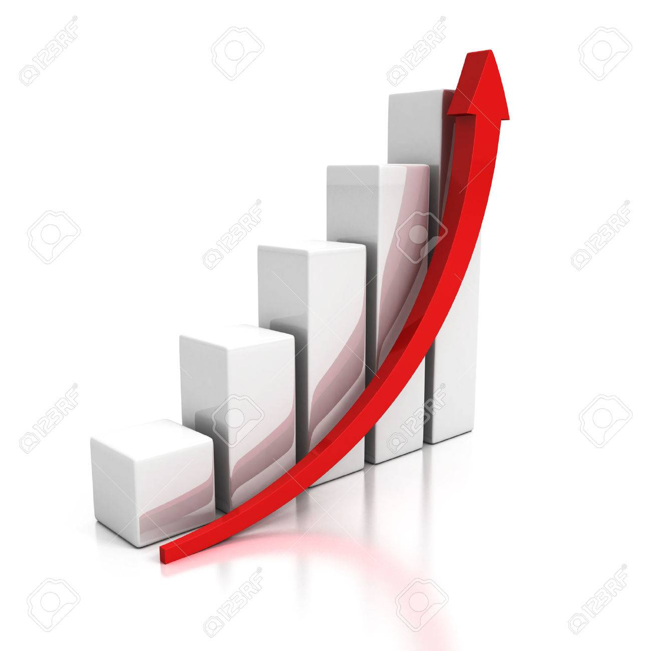 上昇の矢印で成長しているビジネ...